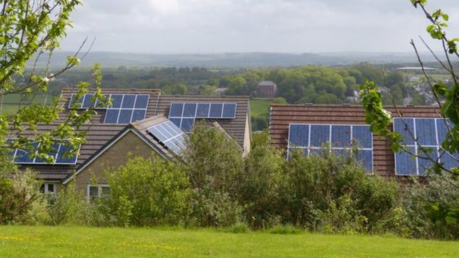 Residents of Wadebridge have been amongst the fastest in the UK to install solar panels