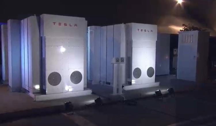 """Tesla Energy """"Power Packs"""" Using Solar PV Power"""