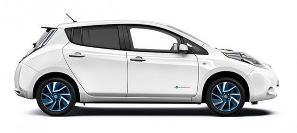 The new Acenta+ will come with a 6.6kW on-board charger as standard (Image: Nissan)