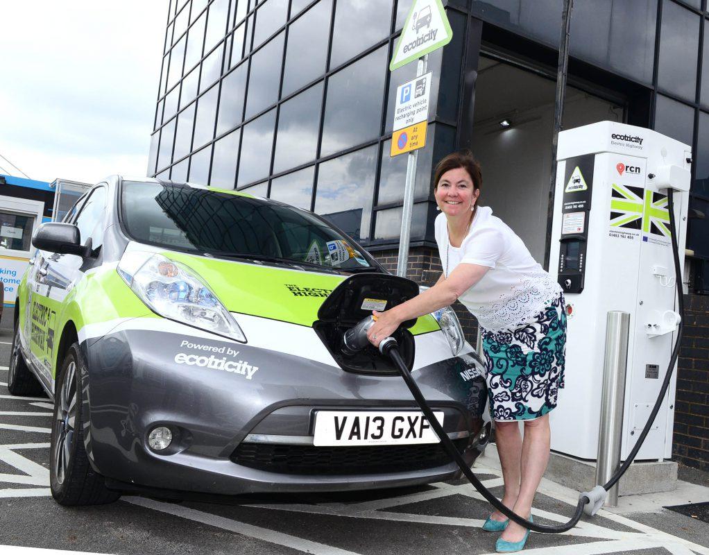 Rapid charging at Birmingham Airport