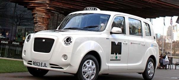 Metrocab Plug-in Taxi
