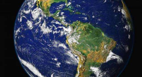 A composite image of the Western hemisphere of the Earth (Image: NASA)