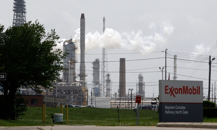By 1978 Exxon's senior scientists were telling top management that climate change was real, caused by man, and would raise global temperatures by 2-3C (Image: P. Sullivan/AP)