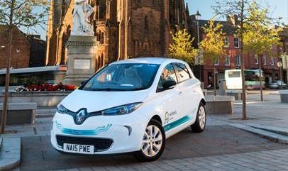 Car sharing club chooses Renault ZOE (Image: Renault)