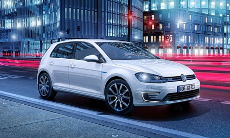 Turn it on: Golf's GTE is part electric and part petrol, with a promise of 166 miles to the gallon