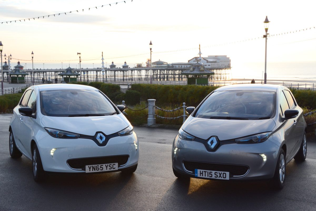Renault ZOE (Image: Green Car Guide)