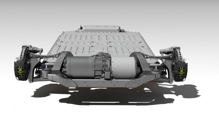 Tesla Model S Drivetrain