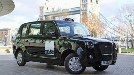 The release of the Metrocab, a battery-powered taxi capable of zero emissions, is one of the efforts to clean up the city's transport (Image: Metrocab)