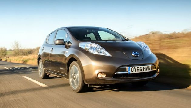 The Leaf 30kWh has an official range of 155 miles - with 124 miles of real world range