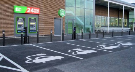 Electric Car Charging And Parking Image G Wallace