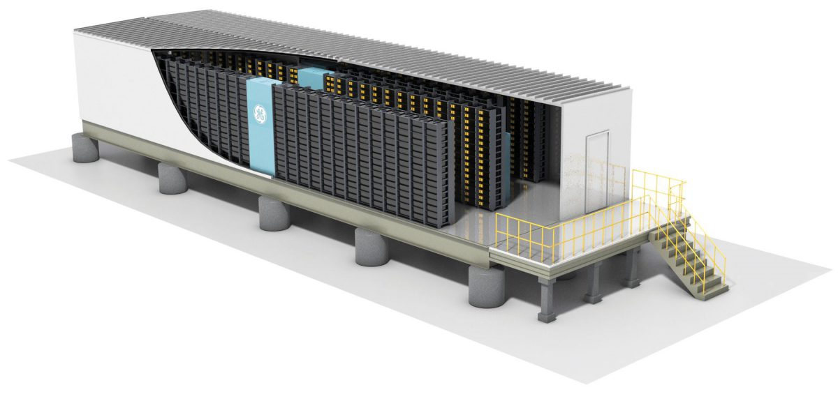 General Electric Lithium-Ion Energy Storage System (Image: GE)