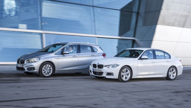 BMW plug-in cars (Image: BMW)