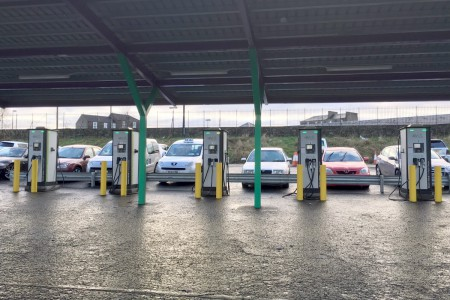 Dundee Cabs charge points