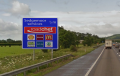 Charging points to be included on motorway signs