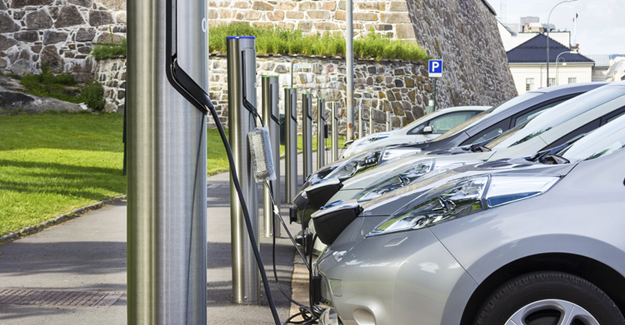 Electric car drivers can 'fill up' at most motorway service stations (Image: RAC)