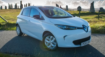 Renault ZOE (Image: Car Scoops)