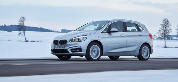 BMW 2 Series Active Tourer 225xe Sport plug-in hybrid car