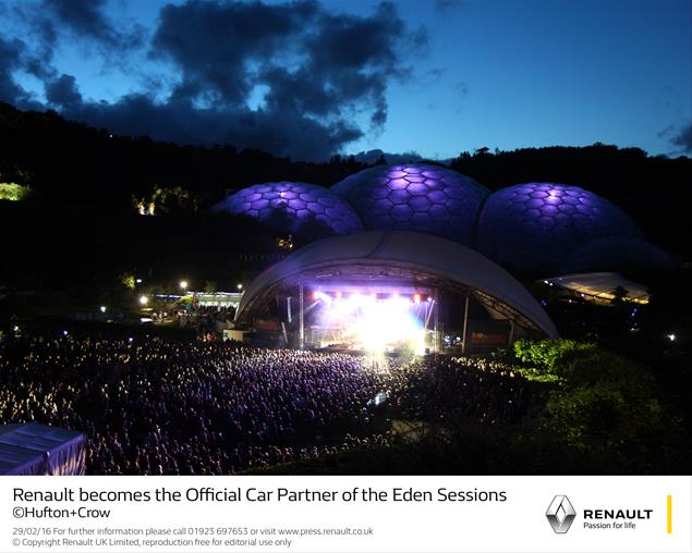 Renault becomes the Official Car Partner of the Eden Sessions