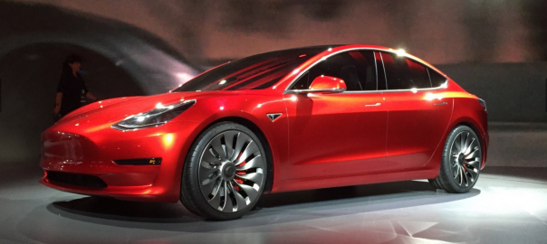 Tesla Model 3 (Image: Green Car Reports)