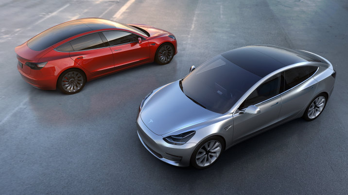 Tesla Model 3 Unveil (Image: Tesla)