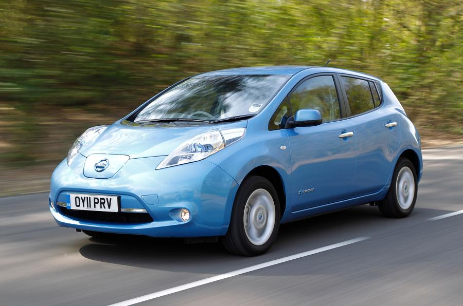 nissan leaf new prices fuel included an electric car and 10 000 miles free charging for a. Black Bedroom Furniture Sets. Home Design Ideas
