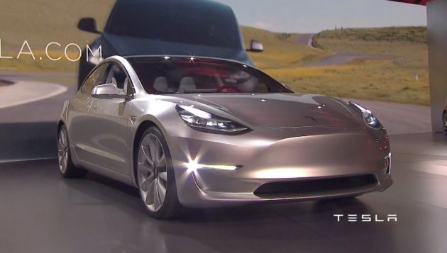 The affordable model 3 is expected to shake up the established compact executive market