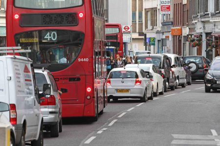 Diesel vehicles are among the worst for harmful pollution, experts claim (Image: N. Howard)