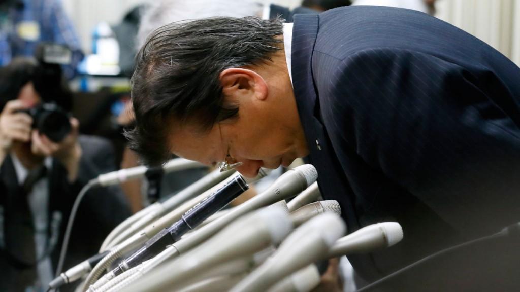 Mitsubishi Motors president Tetsuro Aikawa is in the firing line