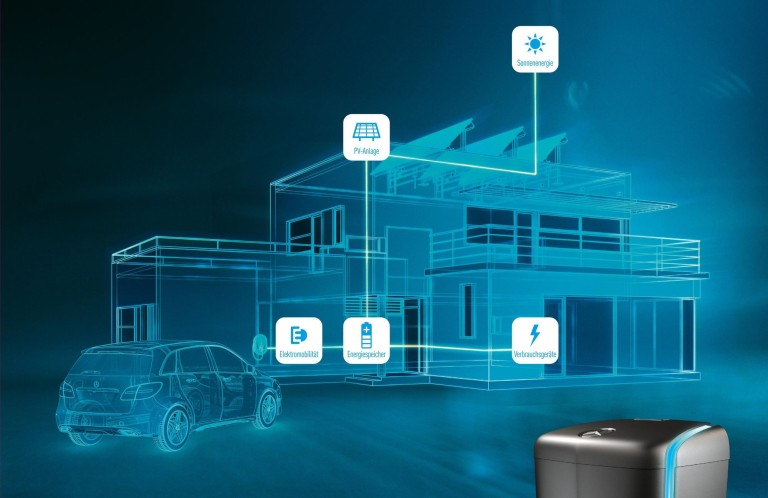 Mercedes-Benz energy storage units for private homes