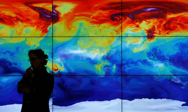 Global land and sea temperature was 1.11C warmer in April 2016 than the average temperature for April during the period 1951-1980 (Image: S. Mahe/Reuters)