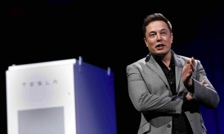 'We need to fight the propaganda of the fossil fuel industry,' says Elon Musk (Image: PT Fallon/Reuters)