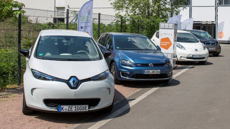 Renault is a partner of the European fast-charging project Fast-E in Germany (Image: Renault)