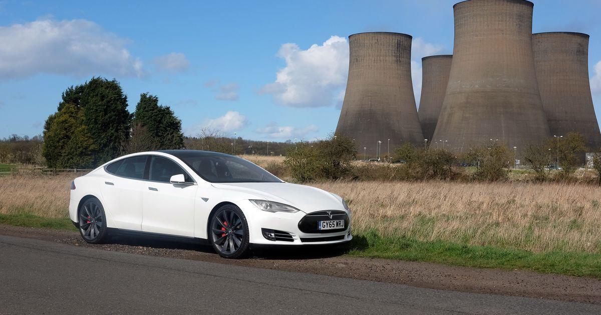 Tesla Model S (Image: A. Souppouris/Engadget)
