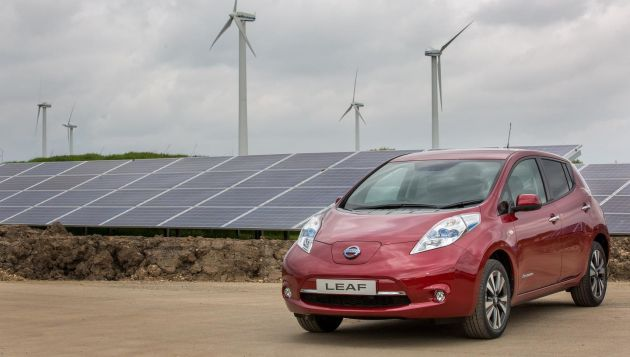 The installation comes as Nissan celebrates 30 years of manufacturing in the UK