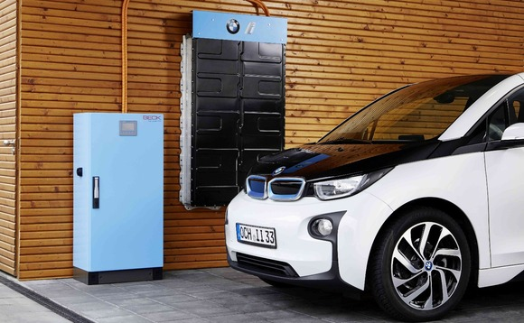 Carmaker announces plans to turn BMW i3 batteries into home energy storage kits (Image: BMW)