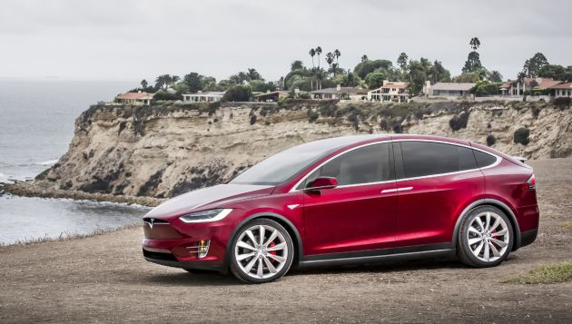 Pricing and specification details for the UK Model X have been revealed