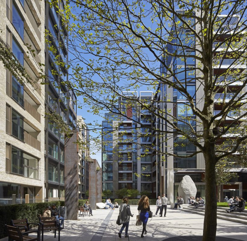 Exclusive London New Build Installs 38 Evolt Charge Points