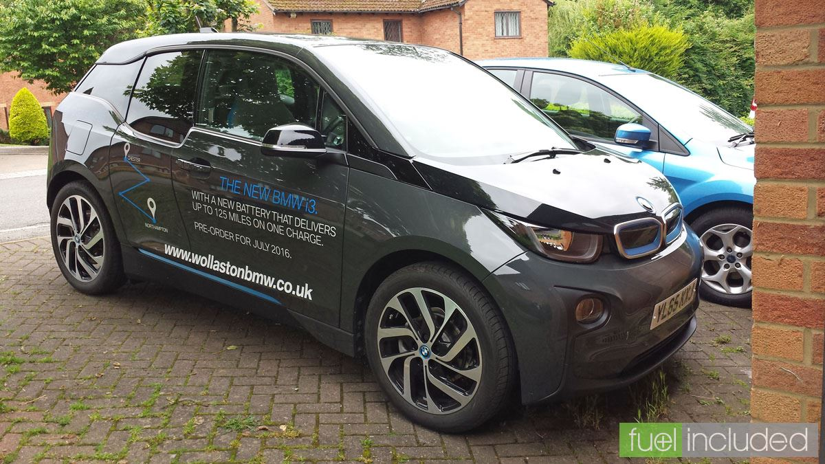 The i3 on our drive (Image: T. Larkum)
