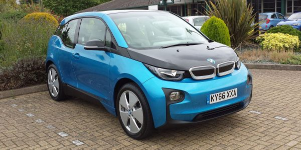 Collecting our new BMW i3 94Ah