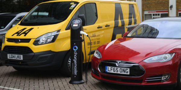 AA and Chargemaster partnership set to bust EV myths