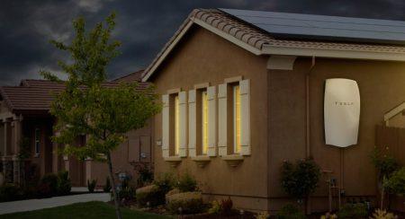 SolarCity System With Tesla Powerwall