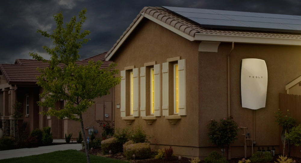 SolarCity System With Tesla Powerwall