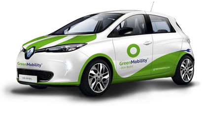Green Mobility's Renault ZOE