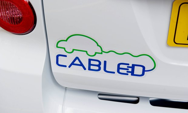 The government target is for electric cars to make up 9% of the fleet by 2020 (Image: S. Lee/Guardian)