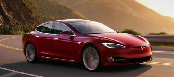 The Model S P100D Ludicrous can cover more than 300 miles on a charge