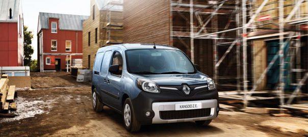 Kangoo Z.E. 2017 electric van (Image: Renault)
