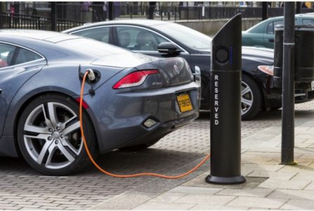 Electric charge point CMK (Image: One MK)