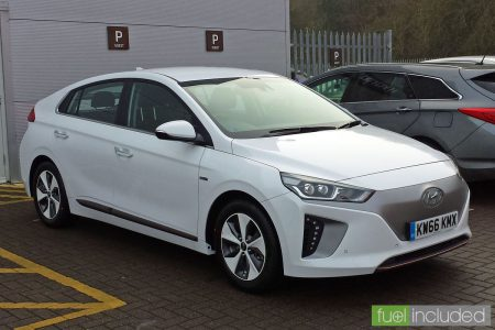 Trevor Heale's new Hyundai Ioniq Electric (Image: T. Larkum)