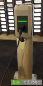 Morrisons Charge Point (Image: T. Heale)