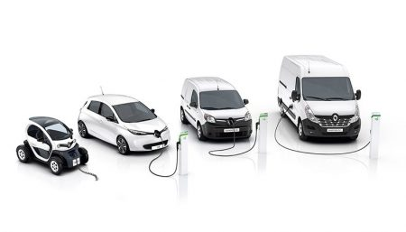 The Renault Electric Z.E. Range (Image: Renault)